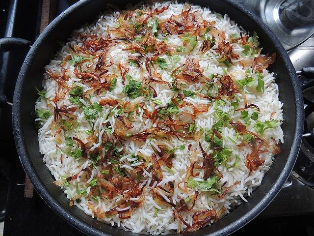 Biryani Rice Food · Free photo on Pixabay (642)
