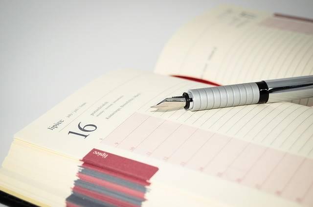 Notebook Fountain Pens Pen - Free photo on Pixabay (2000)